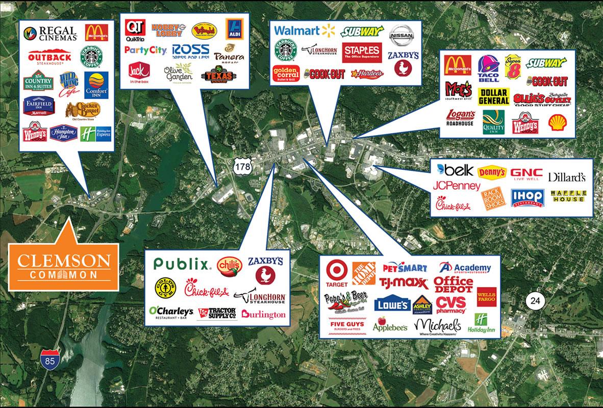 Retailers Aerial